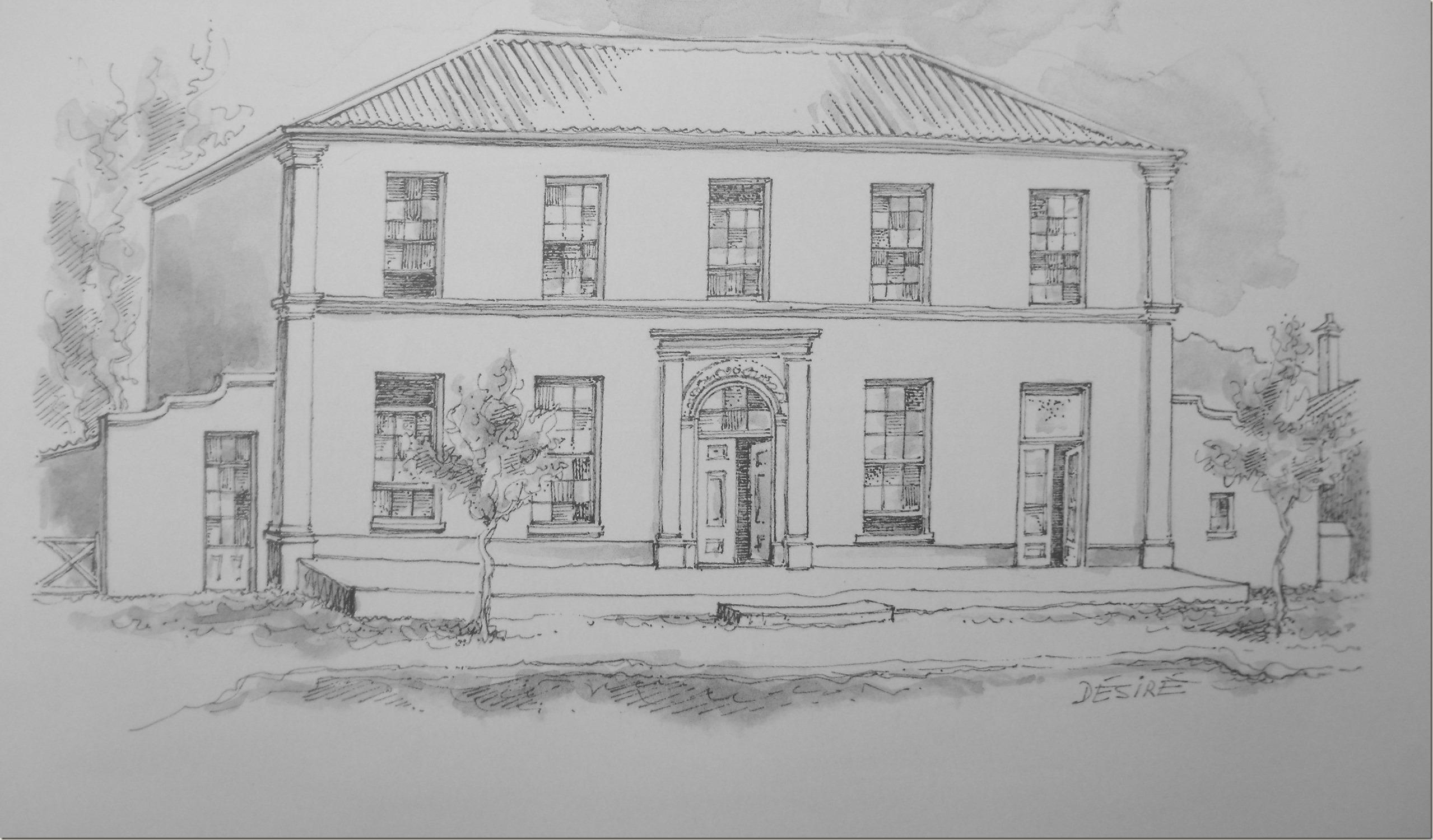 Huis Gideon Malherbe - huisves nou die Afrikaanse Taalmuseum -  Desiree Picton-Seymour