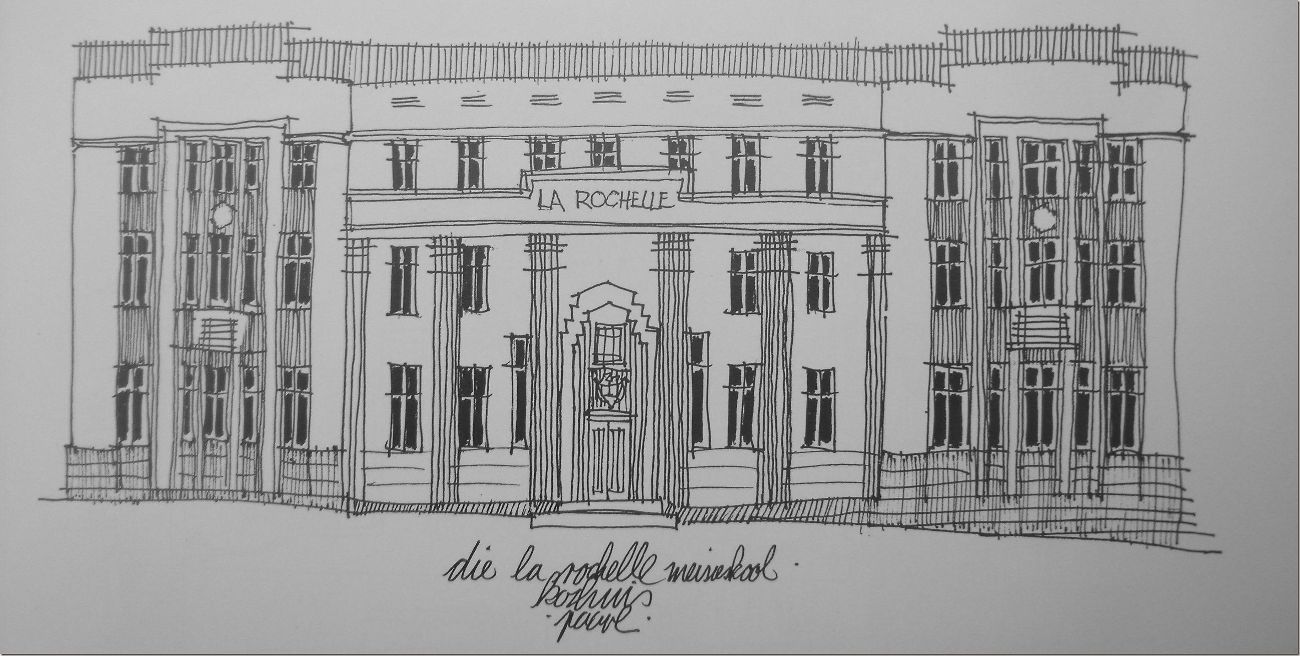 La Rochelle koshuis - Christof Albertyn