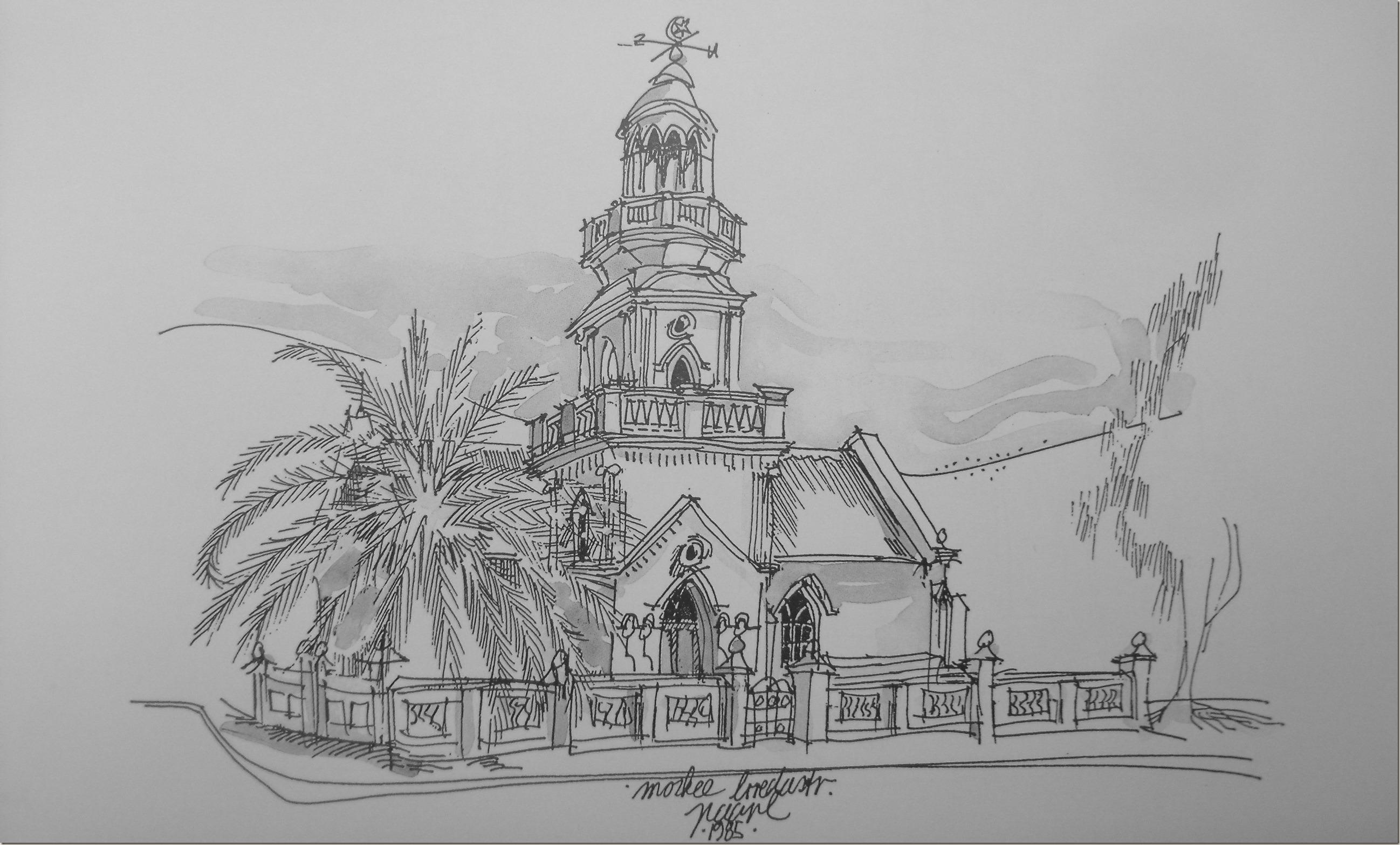 Moskee in Breda straat - Christof Albertyn