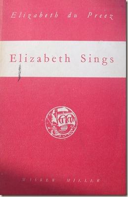 Elizabeth du Preez se boek