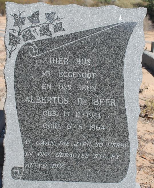 IMG_1838 DE BEER ALBERTUS 1924-1964