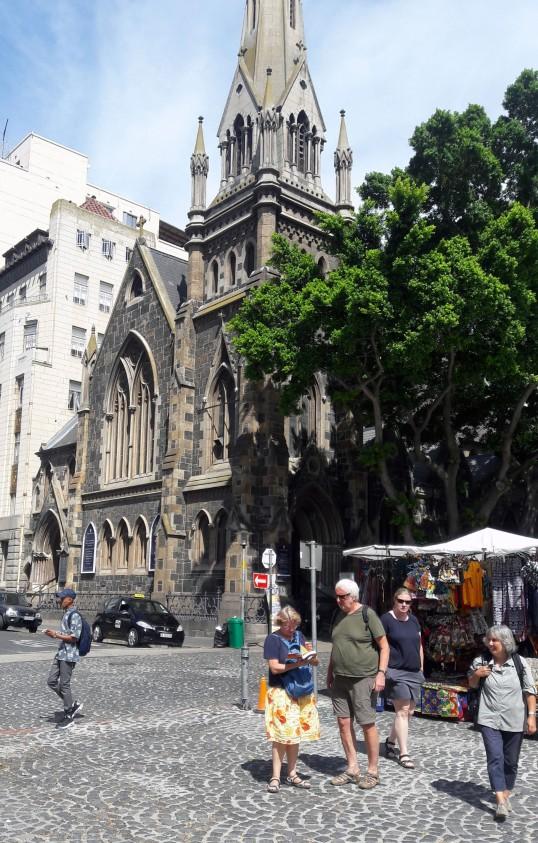 Metodiste kerk en toeriste