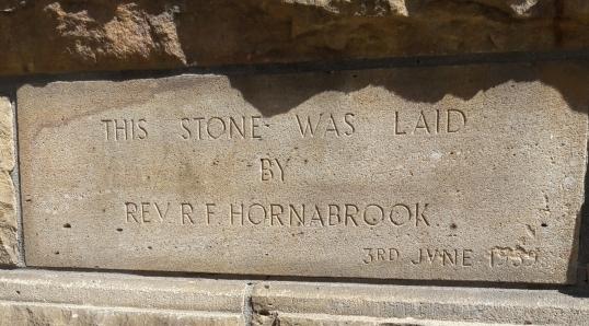 Rev. Hornabrook RF Metropolitan Hall bef. 1859